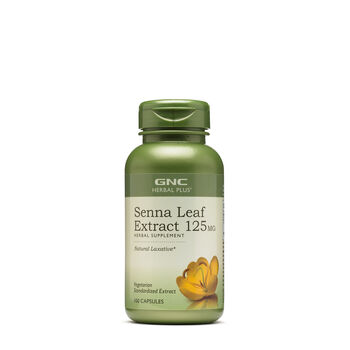 Senna Leaf Extract 125MG | GNC