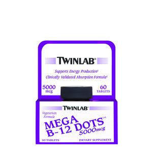 Mega B-12 Dots™ 5000mcg | GNC