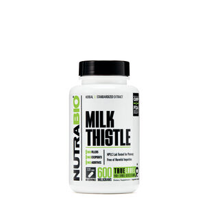 GNC 밀크시슬 NutraBio Milk Thistle - 600 mg