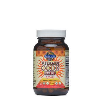 Vitamin Code Raw D3™ 5,000 IU   GNC