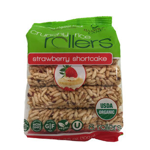 Crunchy Rice Rollers™ - Strawberry ShortcakeStrawberry Shortcake | GNC