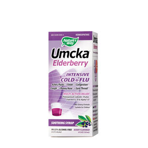 Umcka® Elderberry Intensive Cold + Flu Relief - Berry | GNC