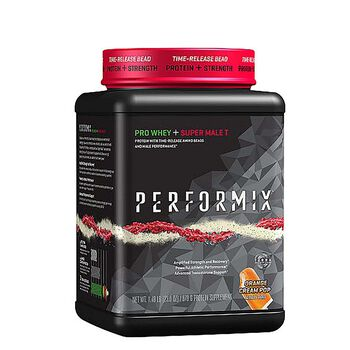Pro Whey + Super Male T - Orange Cream PopOrange Cream Pop | GNC