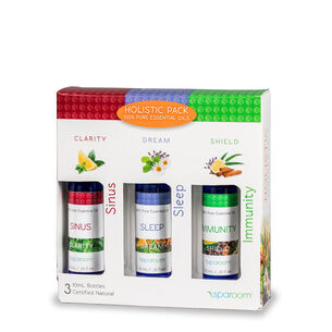 Holistic Pack - 100% Pure Essential Oils | GNC