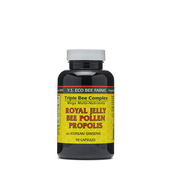 Royal Jelly Bee Pollen Propolis | GNC