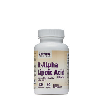 R-Alpha Lipoic Acid + Biotin - 100 Milligrams | GNC