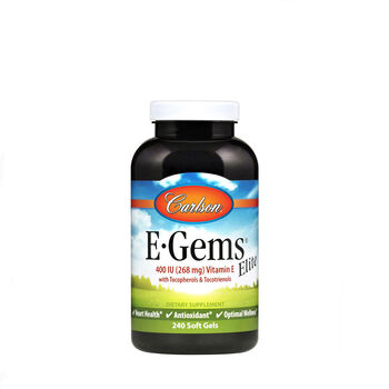 E-Gems® Elite Natural Vitamin E - 400 IU | GNC
