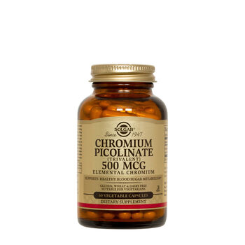 Chromium Picolinate (Trivalent) 500 MCG | GNC