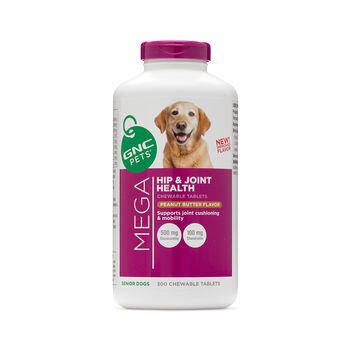 Mega Hip and Joint Health - Senior Dogs - Peanut Butter FlavorPeanut Butter | GNC