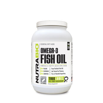 Nutrabio omega 3 fish oil gnc for Why take fish oil