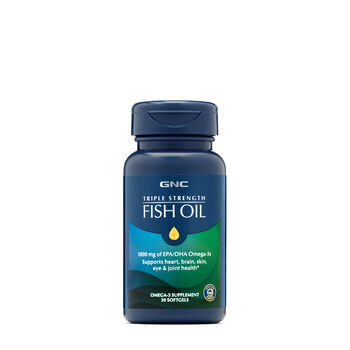 Triple Strength Fish Oil 1000mg | GNC