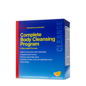 Complete Body Cleansing Program | GNC