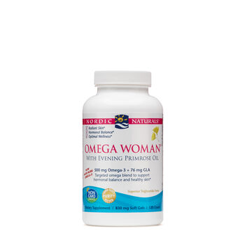 Omega Woman® - Lemon | GNC