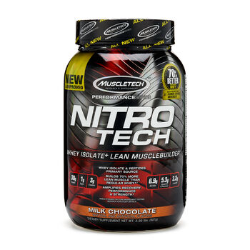 Nitro Tech™ - Milk ChocolateMilk Chocolate | GNC