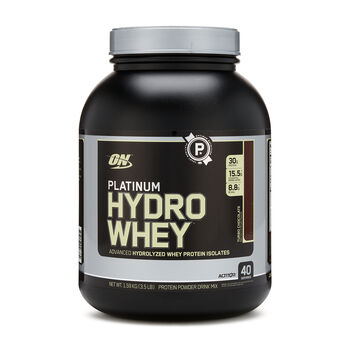 Platinum Hydro Whey® - Turbo ChocolateTurbo Chocolate | GNC