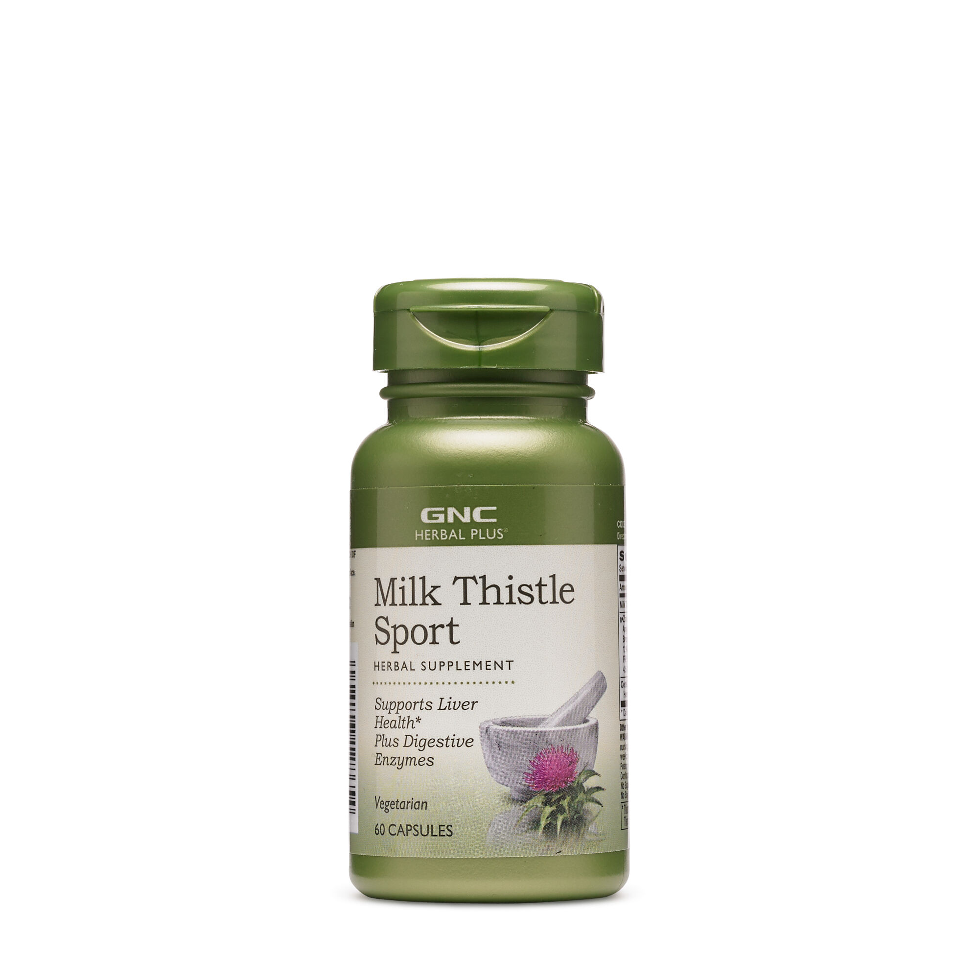 GNC밀크씨슬 스포츠 60캡슐 - Herbal Plus Milk Thistle Sport