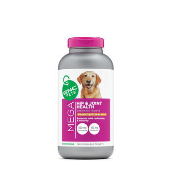 Mega Hip and Joint Health - Senior Dogs - Peanut Butter Flavor | GNC