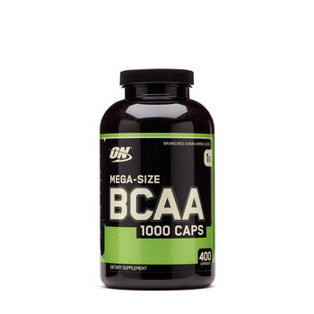 Mega-Size BCAA 1000 Caps | GNC