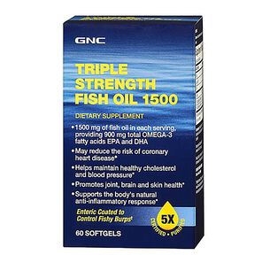 Triple Strength Fish Oil 1500 | GNC