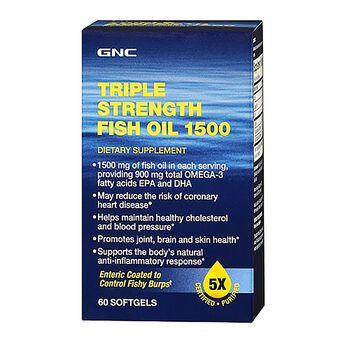 Triple Strength Fish Oil 1500 | GNC
