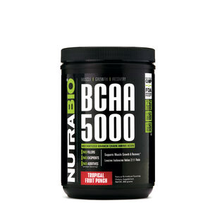 BCAA 5000 - Tropical Fruit PunchTropical Fruit Punch | GNC