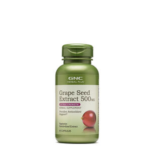 GNC Herbal Plus Grape Seed Extract 500 mg - Extra Strength