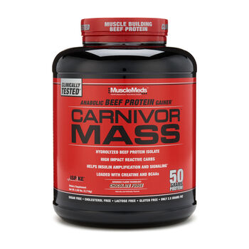 Carnivor Mass™ - Chocolate FudgeChocolate Fudge | GNC