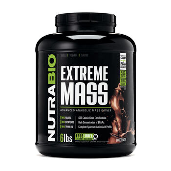 Extreme Mass - ChocolateChocolate | GNC