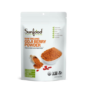 Raw Organic Goji Berry Powder | GNC