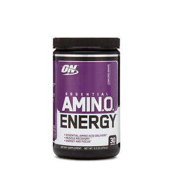 AMIN.O. Energy - Concord GrapeConcord Grape | GNC