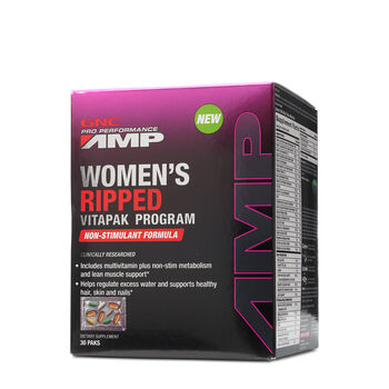 Women's Ripped Vitapak® Program Non-Stimulant Formula | GNC