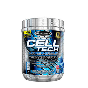 Cell Tech™ Hyper-Build™ - Blue Raspberry BlastBlue Raspberry Blast | GNC