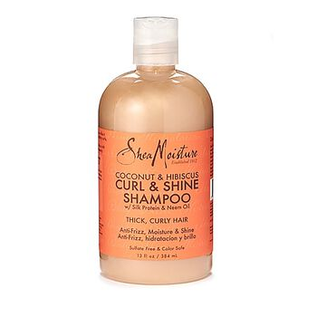 Coconut & Hibiscus Curl & Shine Shampoo with Silk Protein & Neem Oil | GNC