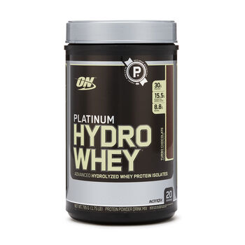Platinum Hydro Whey® Turbo ChocolateTurbo Chocolate | GNC