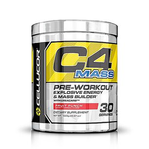 C4® Mass - Fruit Punch | GNC