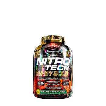 Nitro-Tech™ 100% Whey Gold - Mint Chocolate Chip SundaeMint Chocolate Chip Sundae | GNC