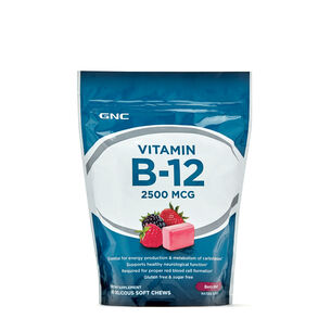 GNC 비타민B Vitamin B-12 Soft Chews