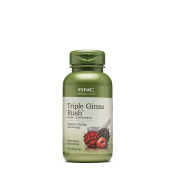 Triple Ginsa Rush™ | GNC