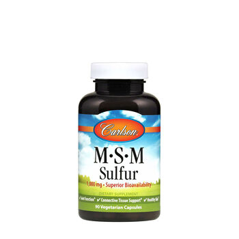 MSM Sulfur 1000 mg | GNC