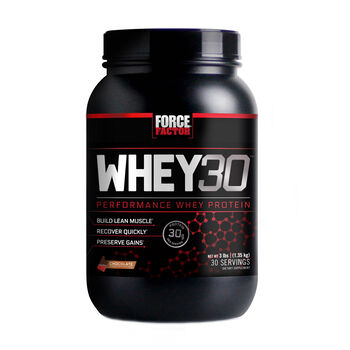 Whey30 - ChocolateChocolate | GNC