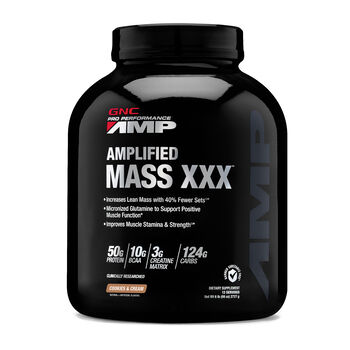 Amplified Mass XXX™ - Cookies & CreamCookies and Cream | GNC