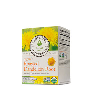Organic Roasted Dandelion Root Herbal Tea | GNC