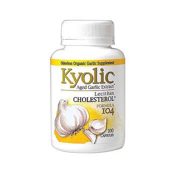 Kyolic® CHOLESTEROL* Aged Garlic Extract™ | GNC
