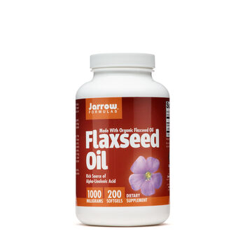 Flaxseed Oil 1000 mg | GNC