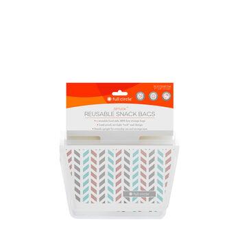 Ziptuck Reusable Snack Bags - Chevron | GNC