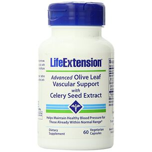 Advanced Olive Leaf Vascular Support with Celery Seed Extract | GNC