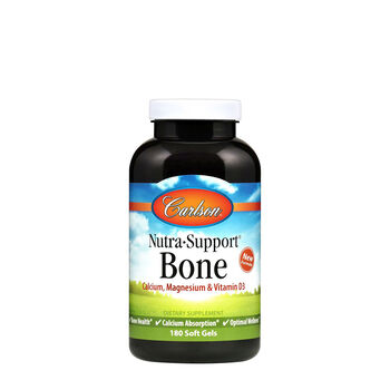 Nutra Support Bone - Calcium & Magnesium with Vitamins D3 and K2 | GNC