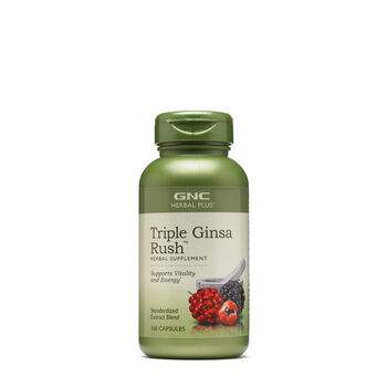 Triple Ginsa Rush™ (California Only) | GNC