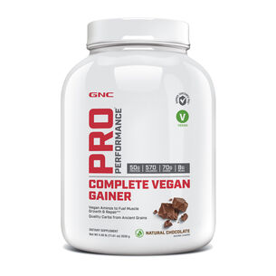 Complete Vegan Gainer - Natural Chocolate | GNC
