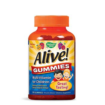 Alive!® Gummies - Multi-Vitamin for Children | GNC